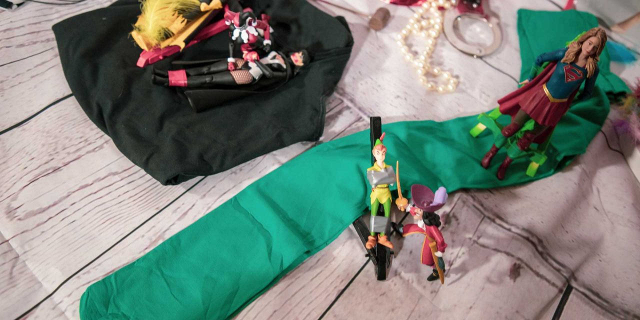 Peter Pan und die Lehrerin (hilflose Jungs)
